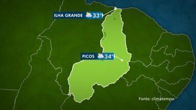 Meteorologia prevê domingo chuvoso em todo o território do Piauí - Meteorologia prevê domingo chuvoso em todo o território do Piauí