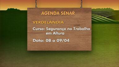 Confira as dicas de curso da Agenda Senar desta semana - Curso 'Implantação de Horta Caseira' é realizado em Itacambira, de 8 a 9 de abril.