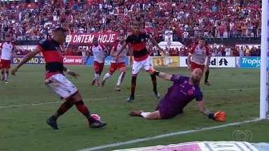 Melhores Momentos: Atlético-GO 1 x 0 Vila Nova - Veja o gol e os melhores lances do clássico decisivo pelas semifinais do Campeonato Goiano
