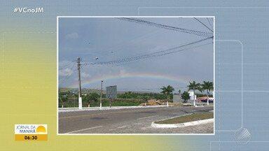 Confira a previsão do tempo desta segunda-feira (8); veja também as fotos do amanhecer - Saiba como fica o tempo no estado.
