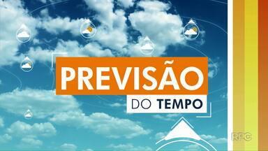Confira como fica a previsão do tempo para Maringá e região - Previsão é de tempo firme para Maringá nesta segunda-feira.