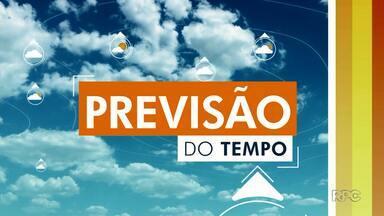 Três próximos dias de tempo estável em Londrina - Apesar disso, o friozinho chega à região.