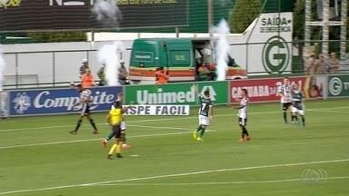 Confira os gols da rodada deste fim de semana pelo Campeonato Goiano - Goiás enfrentou o Goiânia e Vila Nova jogou contra Atlético Goianiense.