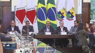 Kalil se reúne com parlamentares e cobra união para assegurar verbas do Governo Federal - Segundo prefeito, governo do estado deixou de repassar R$600 milhões à prefeitura da cidade.