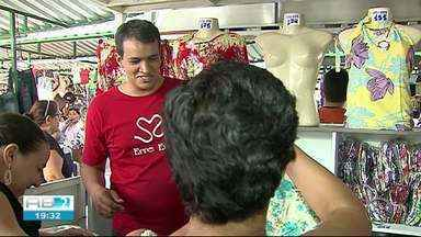 Sulanqueiros reclamam das vendas na feira em Caruaru - Vendas devem aumentar no São João