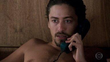 Jerônimo decide impedir que Mercedes prejudique Janaína - Vanessa alerta o amante sobre o perigo de mexer com uma pessoa poderosa como Mercedes