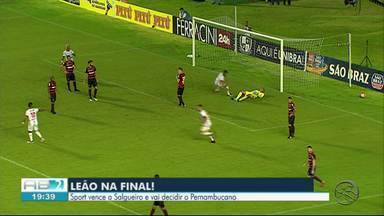 Sport passa para a final do Pernambucano - Equipe bateu o Salgueiro