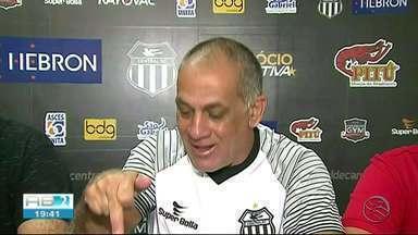 Celso Teixeira é apresentado no Central - Treinador vai comandar a equipe na Série D