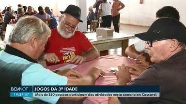 Jogos da Terceira Idade são disputados em Cascavel - Mais de 350 pessoas participam das atividades nesta semana em Cascavel.