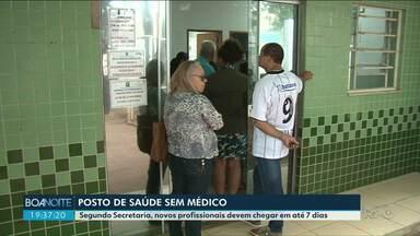 Moradores de Paranavaí reclamam da falta de médico em posto de saúde - Segundo Secretária, novos profissionais devem chegar em até 7 dias.