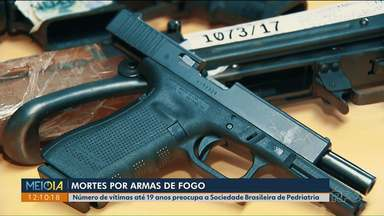 Flexibilização da posse de armas de fogo levanta debate sobre possibilidade de acidentes - Sociedade Brasileira de Pediatria diz que a maior preocupação é com o número de vítimas entre 0 e 9 anos.