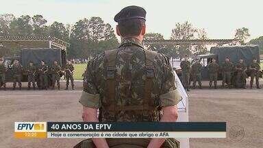 EPTV 40 Anos: Pirassununga abriga Academia de Força Aérea Brasileira - Militares da cidade participaram de momentos importantes do país como a revolução de 32.