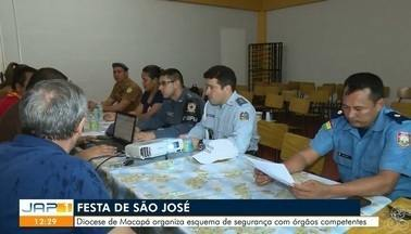 São esperadas mais de cinco mil pessoas para a festa de São José - Diocese de Macapá organiza esquema de segurança com órgãos competentes.