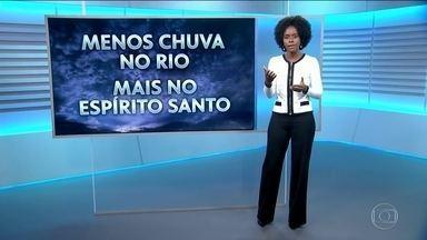 Previsão do tempo para quarta (10/04) - Previsão de menos chuva para o Rio de Janeiro. Sul teve a primeira geada do ano.