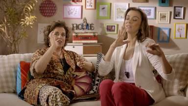 Nenhum Degrau Mais a Descer - Fernanda se encanta com o professor de Pilates e conhece uma psicóloga que atua como Personal Love Coach. Nathalie apresenta o namorado aos amigos: o massagista Tulio, de 70 anos.