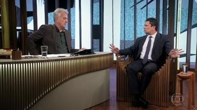 Sérgio Moro comenta críticas de Gilmar Mendes à Operação Lava Jato - Moro afirma que nunca quis censurar a liberdade de expressão do ministro