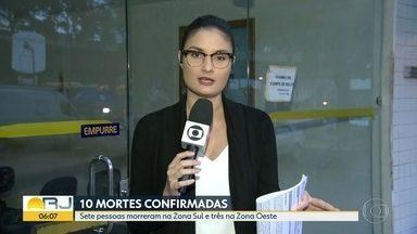 Temporal no Rio deixa 10 pessoas mortas - Temporal no Rio deixa 10 pessoas mortas