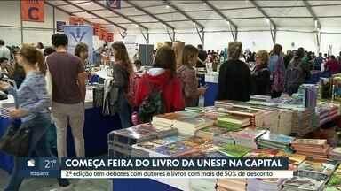 Feira do livro da Unesp reúne 160 editoras em São Paulo - Evento oferece programação cultural e descontos a partir de 50%