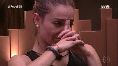 Rízia é eliminada e Paula e Carol estão no Paredão - Alan conquista a última Liderança do BBB 19