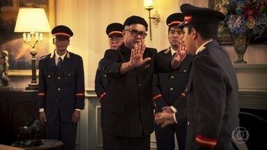 Encontro de Kim Jong-un e Trump - Aja naturalmente nessas ocasiões