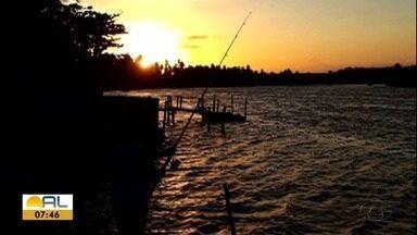 Veja as fotos do amanhecer desta quinta-feira em Alagoas - Fotos foram enviadas para whatsapp da TV Gazeta.