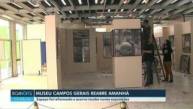 Museu Campos Gerais foi reformado e acervo recebe novas exposições - Local reabre nesta sexta-feira (12).