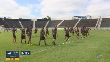Inter de Limeira e XV Piracicaba fazem últimos treinos antes da semifinal - Times buscam vagas nas semifinais da Série A2 do Paulista, neste sábado (13).
