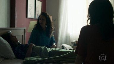 Marie avisa a Rania que Missade não está bem - Rania pergunta se Laila e Missade brigaram e Marie inventa uma desculpa qualquer