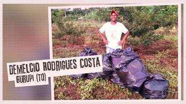Confira o quadro ´Desafio do Lixo´ - Luciano Huck passou a missão e muitos aderiram enviando as fotos do antes e depois no ´Desafio do Lixo´. Confira!
