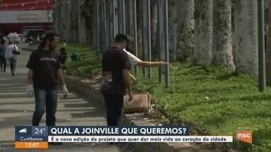 Projeto 'Joinville Que Queremos' realiza atividades de melhorias na cidade - Projeto 'Joinville Que Queremos' realiza atividades de melhorias na cidade