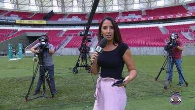 Confira destaques do Globo Esporte RS ao vivo do Beira-Rio neste sábado (13) - undefined