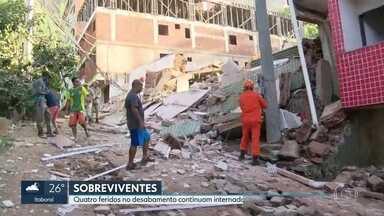 Voluntários se organizam para ajudar vítimas de tragédia na Muzema - Desabamento de dois prédios deixou mortoe e feridos.