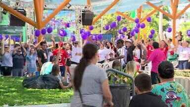 Moradores de Sapiranga se mobilizam para acompanhar a final do The Voice Kids - Assista ao vídeo.