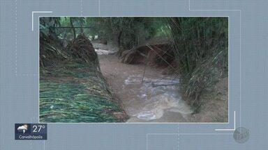 Chuvas atingem cidades do Sul de MG no fim de semana - Chuvas atingem cidades do Sul de MG no fim de semana