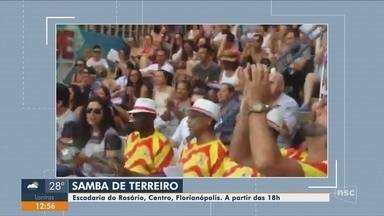 Projeto de samba faz apresentação gratuita em Florianópolis - Projeto de samba faz apresentação gratuita em Florianópolis