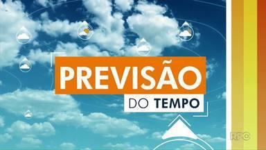 Confira como fica a previsão do tempo para Ponta Grossa e região nesta segunda-feira (15) - Temperaturas não devem passar dos 27ºC em Ponta Grossa.