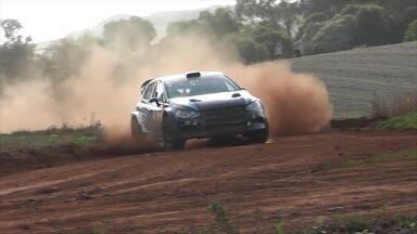 Termina o Rally de Velocidade de Estação - Paulo Nobre e Gabriel Morales foram os campeões.