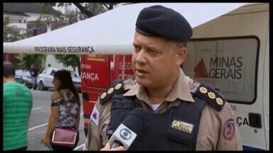 Base da PM é instalada na Praça do Santuário em Divinópolis - Medida ocorreu após solicitação dos moradores.
