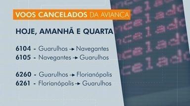 Avianca cancela voos em Santa Catarina - Avianca cancela voos em Santa Catarina