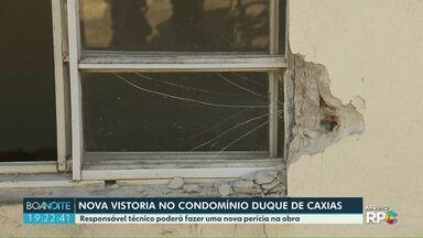 Novo impasse pode atrasar demolição no Duque de Caxias - Condomínio foi interditado por risco de desabamento.