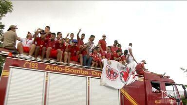 Imperatriz vence o campeonato maranhense 2019 - Depois de 4 anos, o time ergueu a taça do tricampeonato estadual. Na cidade, os campeões foram recebidos com festa.
