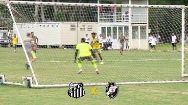 Após derrota no primeiro jogo da final do Cariocão, Vasco enfrenta o Santos pela Copa do Brasil - Após derrota no primeiro jogo da final do Cariocão, Vasco enfrenta o Santos pela Copa do Brasil