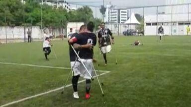 Corinthians/Mogi segue invicto no Campeonato Paulista de futebol de amputados - Time venceu o Sorocaba por 6 a 2.