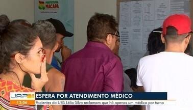 Pacientes relatam a dificuldade para receber atendimento na UBS Lélio Silva, em Macapá - undefined