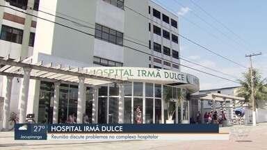 Reunião discute problemas no complexo hospitalar Irmã Dulce, em Praia Grande - As reclamações sobre o hospital foram motivo de uma reunião na Câmara de Vereadores.