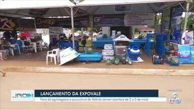 Ariquemes lança terceira edição da Expovale - Feira acontece entre os dias