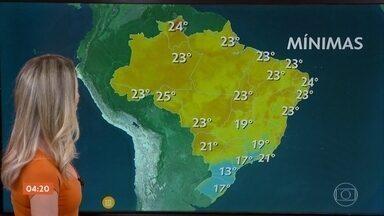 Confira a previsão para o feriado da Sexta-Feira Santa e para a Páscoa - Jacqueline Brazil mostra a previsão do tempo para todo o país nesta quinta, sexta, sábado e domingo.