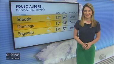 Confira a previsão do tempo para este sábado (20) no Sul de Minas - Confira a previsão do tempo para este sábado (20) no Sul de Minas