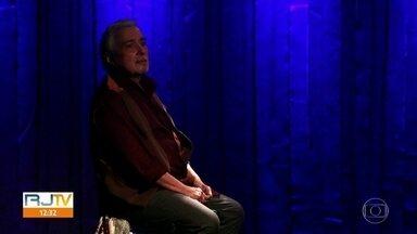 """Pedro Paulo Rangel completa 50 anos de carreira - Ator está em cartaz com a peça """"O ator e o lobo"""", no Teatro Poeira, em Botafogo."""