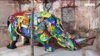 A arte do lixo